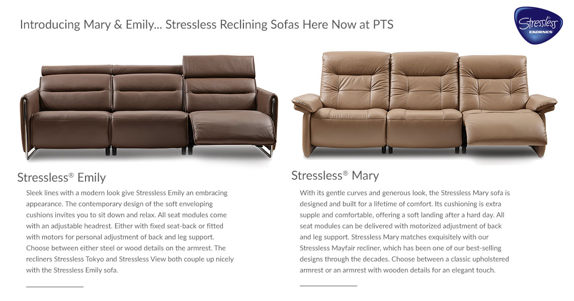 Stressless Recliners Emily & Mary