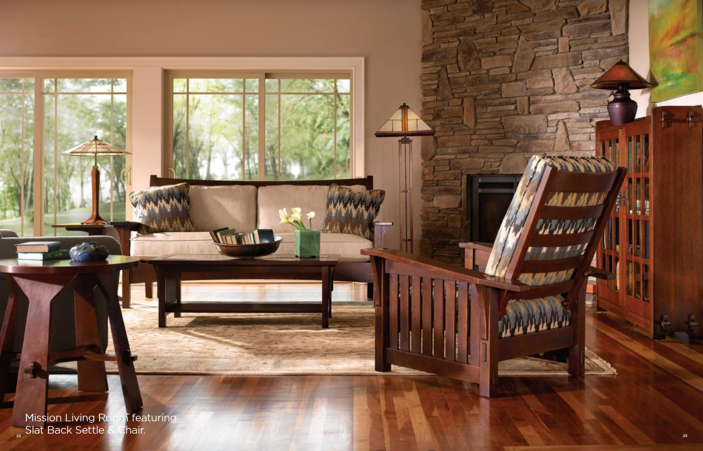 Mission furniture available at PTS Furniture Store  PTSfurniture.com